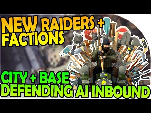 NEW RAIDERS + FACTIONS - CITY + BASE DEFENDING AI INBOUND - Last Day On Earth Survival 1.6.4 Update