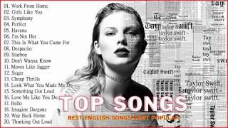 🍓Top Songs 2019 - Ed Sheeran, Adele, Charlie Puth, Shawn Mendes, Maroon 5, Taylor Swift, Sam Smith