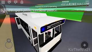 Shift bei West Vancouver TL | ROBLOX