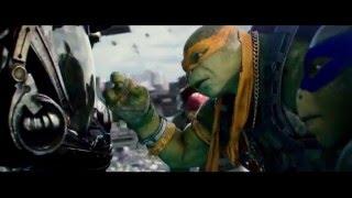 Черепашки-ниндзя 2 (2016)   Ролик с СуперКубка HD