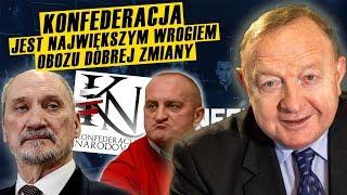 S.Michalkiewicz. Współczuję Macierewiczowi, że ma takich kolegów politycznych jak Marian Kowalski