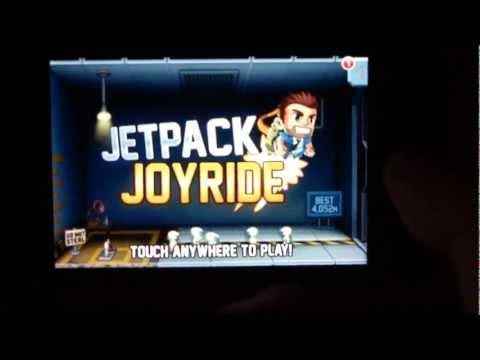 Jetpack Joyride - Обзор игры ios #1