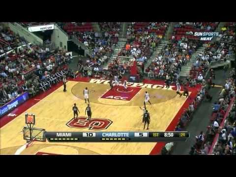 NBA 12-13: Miami Heat @ Charlotte Bobcats (23.10.2012) Dunkshots