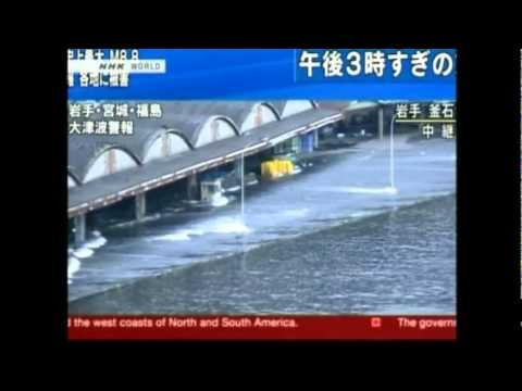 Tsunami Hits Port Town in Hokkaido, Japan