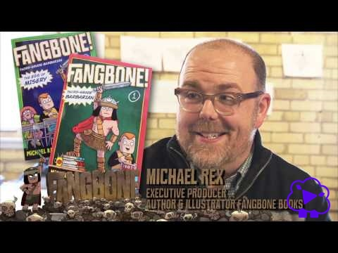 Getting The FANGBONE! Book Rights from Michael Rex - Behind the Scenes