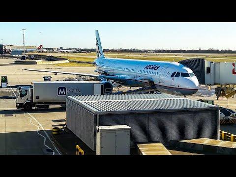 Aegean Airlines Flight Report | London Heathrow - Athens Eleftherios Venizelos Economy Class