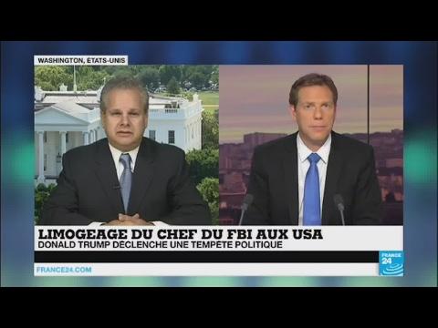Etats-Unis : tempête politique après le limogeage du directeur du FBI