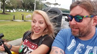 All 4 Walt Disney World Theme Parks in One Day During Busy Christmas Season - Park Hopper Challenge