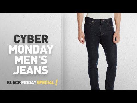 Cyber Monday Men's Black Skinny Jeans Deals: Dickies Men's Slim Skinny Five-Pocket Jean