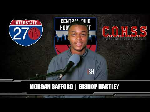 COHR interview with Morgan Safford of Bishop Hartley High School