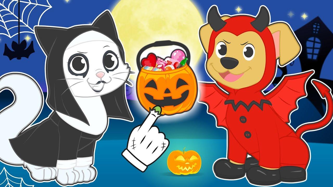 BEBÉS ALEX Y LILY 😈🎃 Max y Kira se disfrazan para Halloween