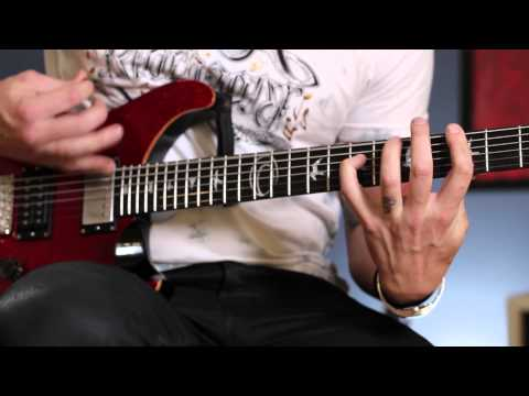 RED: Anthony Armstrong Guitar Lesson - Faceless