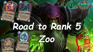 Hearthstone: Road to Rank 5 - Zoo Warlock #7: Rastakhan