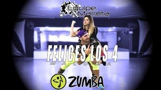 Felices Los 4 (Versão Zumba) - Maluma - Coreografia Equipe Marreta 4k