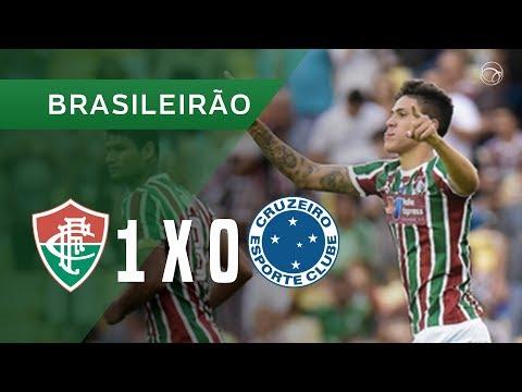 FLUMINENSE 1 X 0 CRUZEIRO - 22/04 - BRASILEIRÃO 2018
