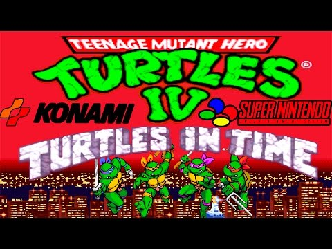 Teenage Mutant Ninja Turtles IV - Turtles In Time walkthrough (SNES).