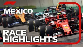 2019 Mexican Grand Prix: Race Highlights