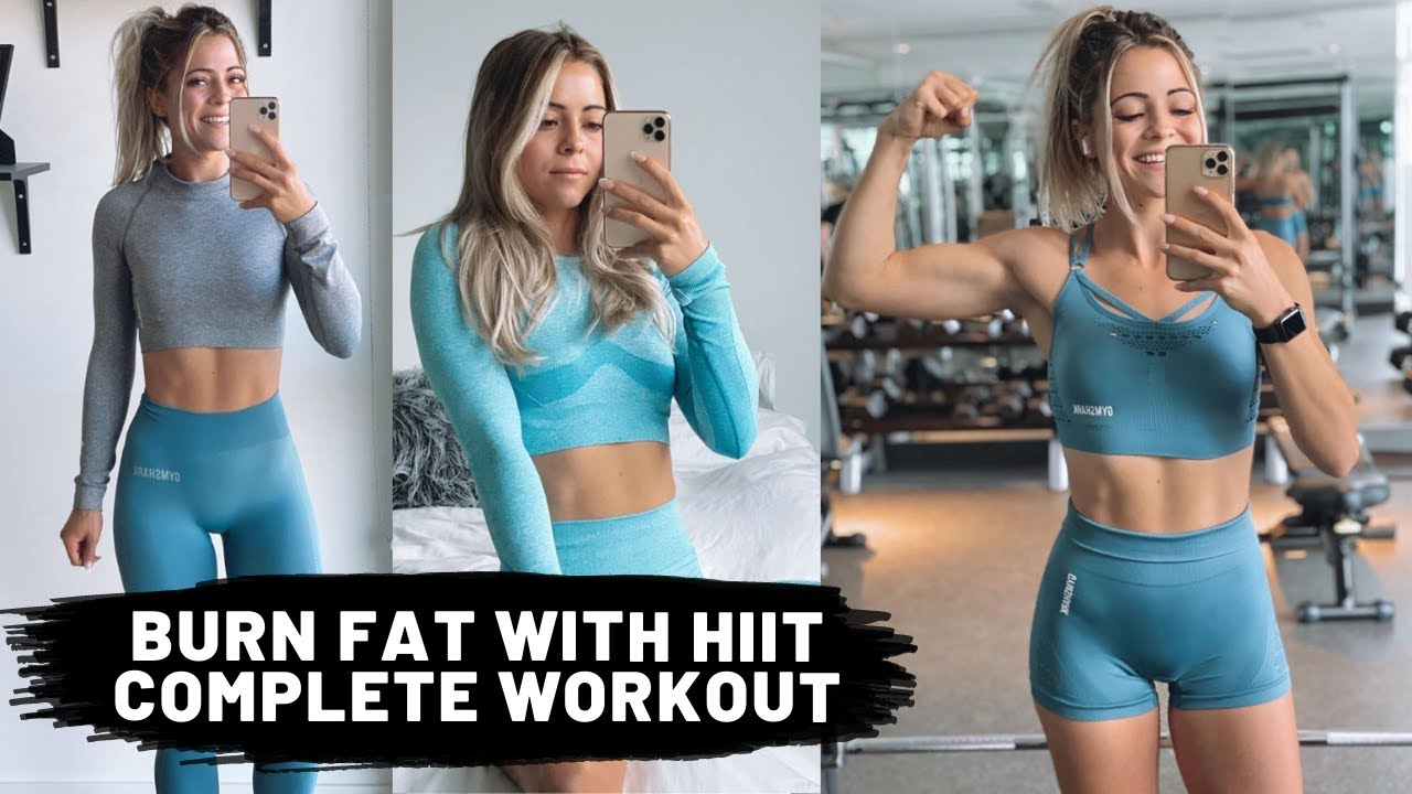 BURN FAT WITH HIIT | Complete Workout!!