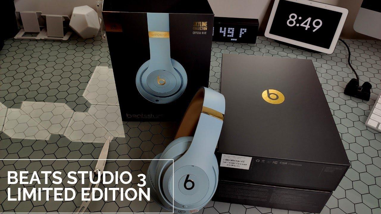 Beats Studio 3 Wireless Skyline Collection Crystal Blue Youtube