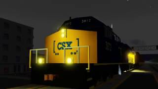 Railfanning All Cascade & Midwestern Locations In ROBLOX