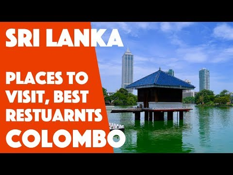 Colombo Part 2 - Places to Visit Colombo | Gangaram Temple, Independence Square, Raja Bojun, Upali