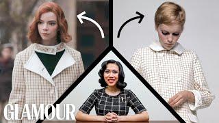 Fashion Historian Fact Chęcks The Queen's Gambit's Wardrobe | Glamour