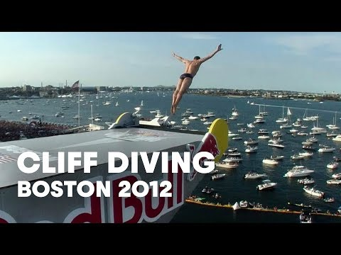 Cliff Diving in Boston - Red Bull Cliff Diving World Series 2012