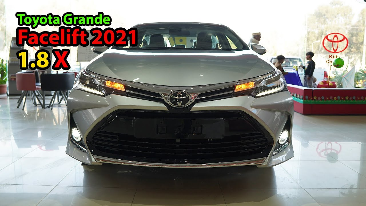 video Toyota Corolla Altis Grande X CVT-i 1.8 Beige Interior 2021 Price, Specifications & Features in Pakistan