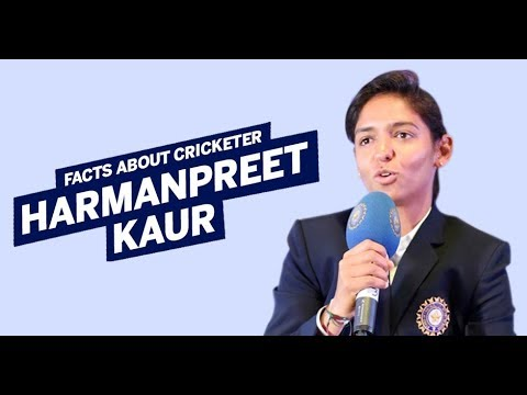 Facts about cricketer Harmanpreet Kaur | Indian women's nati