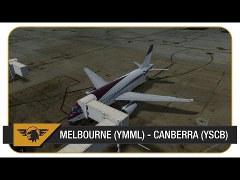 [Prepar3D] Aerosoft A320 Shared Cockpit | Melbourne (YMML) - Canberra (YSCB)