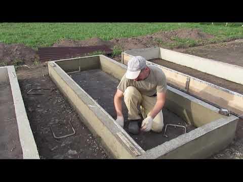 Грядки в бетоне трансформатор бетона