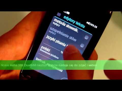 Wideo test i recenzja telefonu Nokia Asha 308 | techManiaK.pl