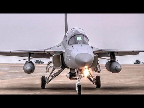 FA-50 Light Attack Aircraft Jet & F-16 @ Kunsan Air Base