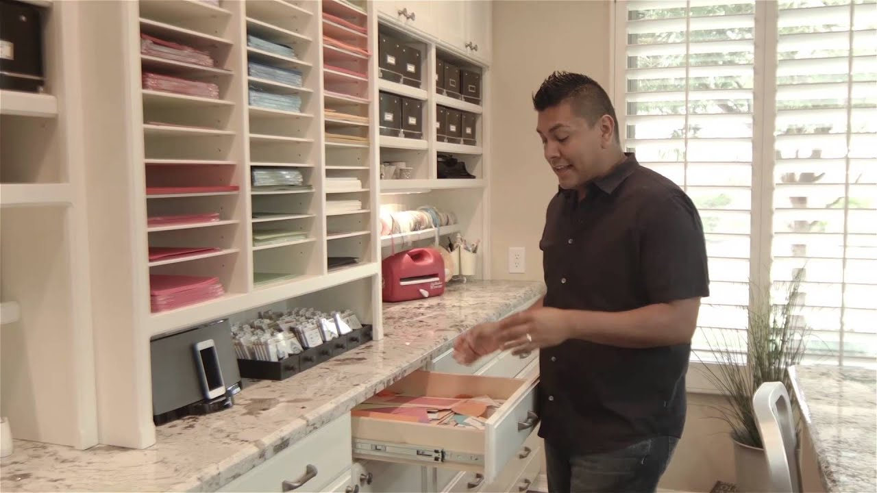Pictures Of Craft Rooms Craft Room Tours  Richard Garay  Youtube