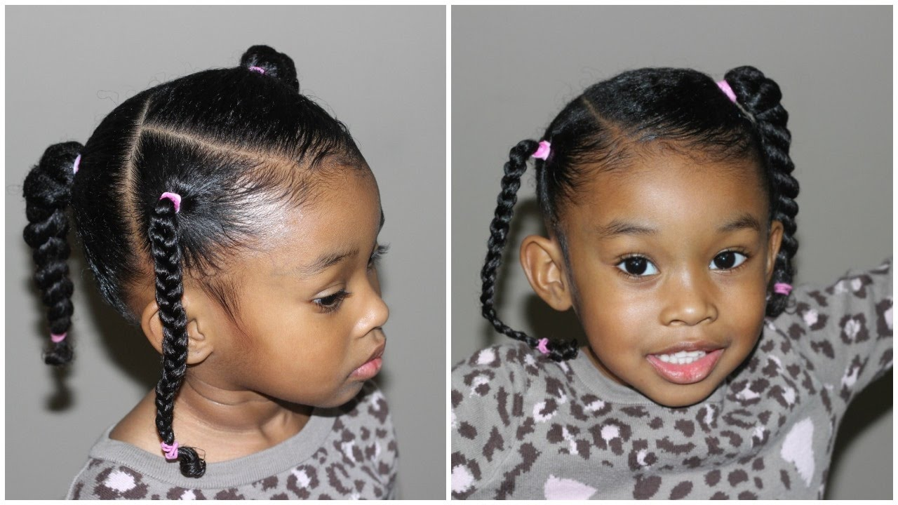 Creative and Natural hairstyles for little black girls of all ages