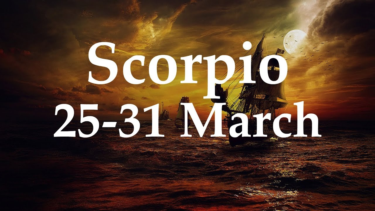 scorpio weekly tarot march 13 2020