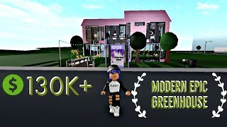 ROBLOX | Bloxburg | Modern Green House | Accessory Dwelling Unit |