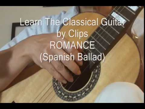 Learn Classical Guitar by Clips, Romance de Amor