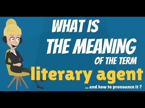 What is LITERARY AGENT? What does LITERARY AGENT mean? LITERARY AGENT meaning & explanation