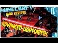 ADVANCED LIGHTSABERS MOD MINECRAFT 1.7.10   Sables laser de Star Wars   MINECRAFT MODS ESPAÑOL