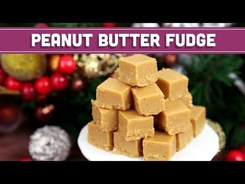 Vegan & Gluten Free Peanut Butter Fudge Christmas Recipe! Mind Over Munch