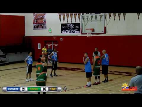 12/10/16 Gunners vs Pauga (Bay Area FilAm Basketball)