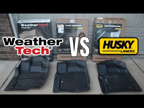 Comparing All-Weather Floor Liners: Weather Tech VS Husky