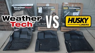 WeatherTech vs Husky - Floor Mats Reviews Part 1