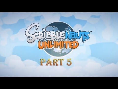 Scribblenauts Unlimited - It's Jurassic Park! - Let's Play |