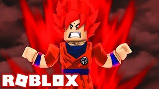 *NEU* BECOMING THE LEGENDARY SUPER SAIYAN GOD in ROBLOX! (Roblox Saiyajin Simulator)