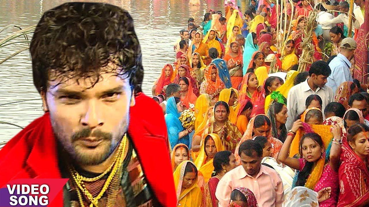 Khesari Lal Yadav का सबसे हिट छठ गीत | सज गईल छठी माई के घाट हो | Bhojpuri Chhath Song 2017 #1
