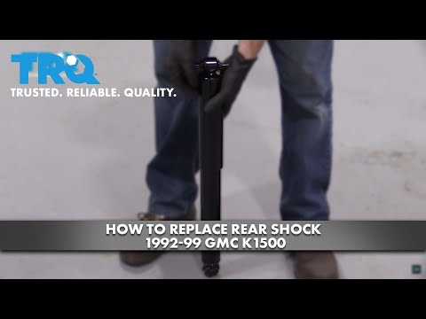How To Replace Rear Shock 1992-99 GMC K1500