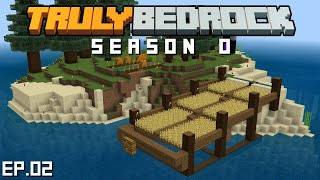 Truly Bedrock s0 e2: Starter resources and the wheat farm