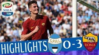 Spal - roma 0-3 - highlights - giornata 34 - serie a tim 2017/18